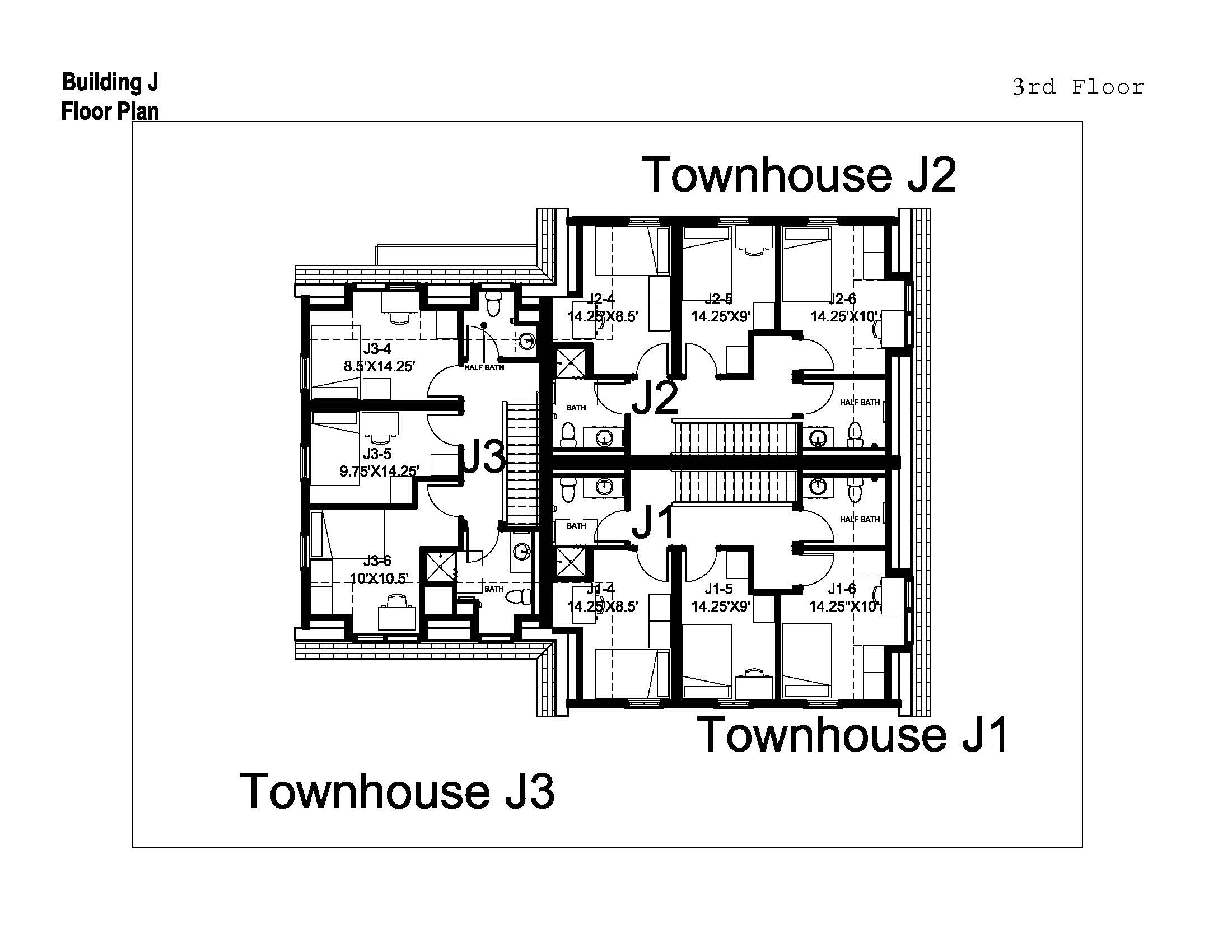 Village townhouses washington and lee university for Homes with detached in law suites