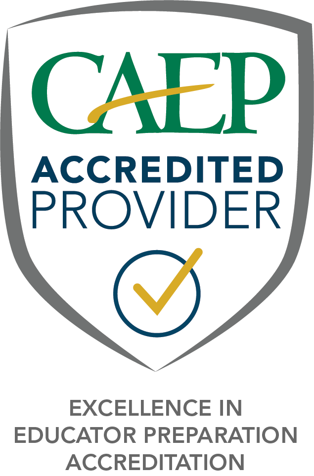 CAEP Accreditation Banner