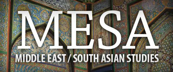 Middle East/South Asian Studies