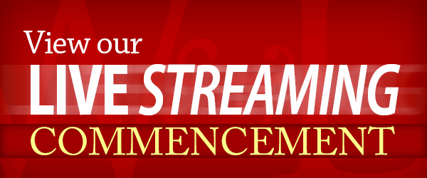 View Our Livestreaming of Commencement