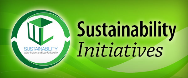 Sustainability Initiatives at W&L