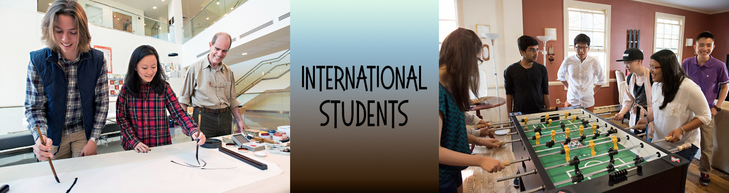international students template