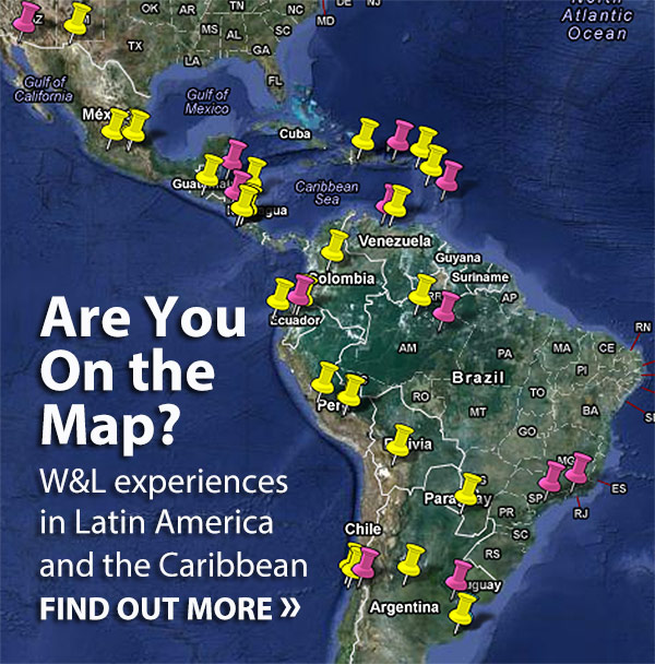 Are You on the Map? W&L experiences in Latin America and the Caribbean - Find out more.