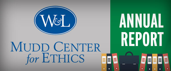 Mudd Center for Ethics Annual Report