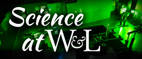 Learn more about Science at W&L